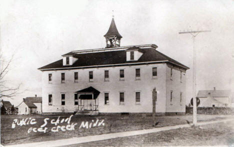 Public School, Deer Creek Minnesota, 1918