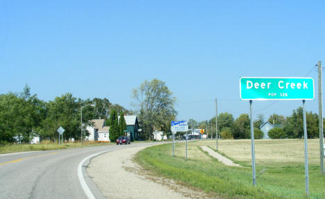Entering Deer Creek Minnesota, 2008