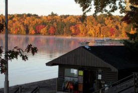 Eagle Nest Lodge on Lake Winnibigoshish near Deer River Minnesota