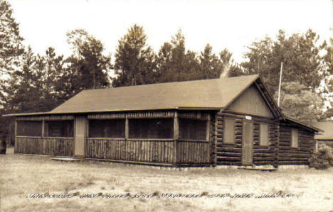 Pine Grove Lodge on Sand Lake near Deer River Minnesota, 1940's