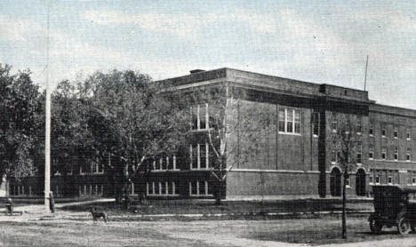 High School, Deer River Minnesota, 1920's