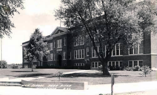 High School, Deer River Minnesota, 1930's