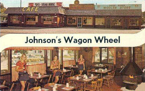 Johnson's Wagon Wheel, Deer River Minnesota, 1960's?