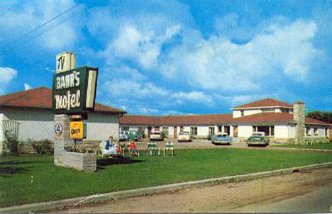 Bahr's Motel, Deer River Minnesota, 1960