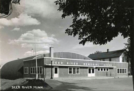Deer River Memorial Arena, Deer River Minnesota, 1955