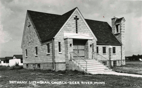 Bethany Lutheran Church, Deer River Minnesota, 1950's