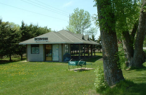 Old Train Depot, now Welcome Center, Deerwood Minnesota, 2007