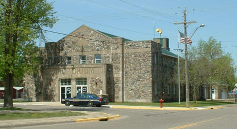 Auditorium and City Hall, Deerwood Minnesota, 2007