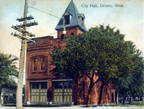 City Hall, Delano Minnesota, 1909