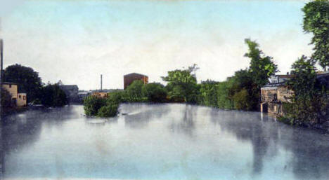 Crow River at Delano Minnesota, 1907