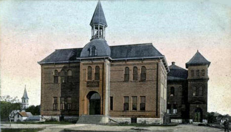 High School, Delano Minnesota, 1908