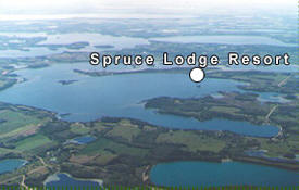 Spruce Lodge Resort, Dent Minnesota