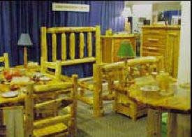 Ottertail Cedar Log Furniture, Dent Minnesota