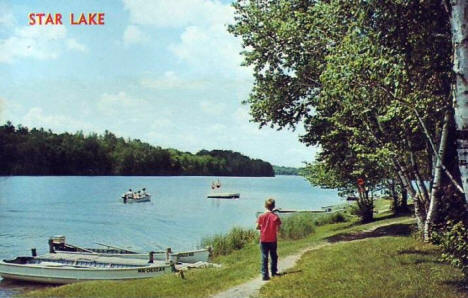 Star Lake, Dent Minnesota, 1962