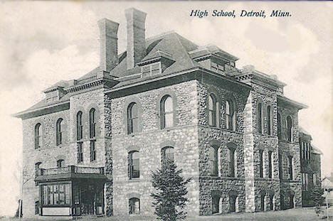 High School, Detroit Lakes Minnesota, 1907