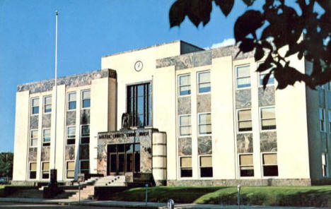 Becker County Courthouse, Detroit Lakes Minnesota, 1960's