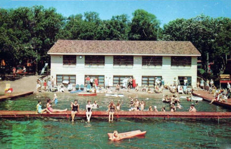 Fair Hills Resort, Detroit Lakes Minnesota, 1959