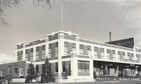 Swift Plant, Detroit Lakes Minnesota, 1950