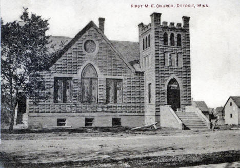 First Methodist Episcopal Church, Detroit Lakes Minnesota, 1933