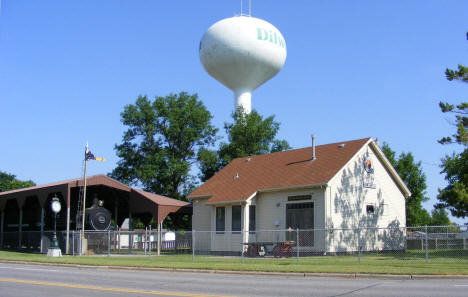 Old Railroad Depot and Water Tower, Dilworth Minnesota, 2008