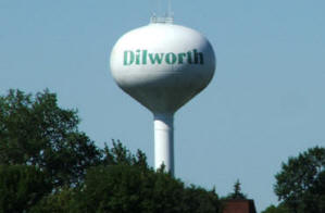 Dilworth Minnesota Water Tower