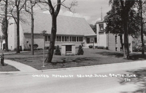 United Methodist Church, Dodge Center Minnesota, 1950's