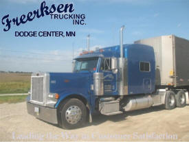 Freerksen Trucking, Dodge Center Minnesota