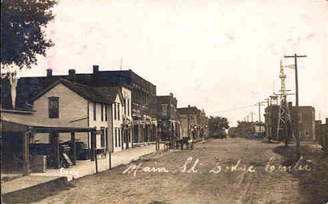 Main Street, Dodge Center Minnesota, 1908
