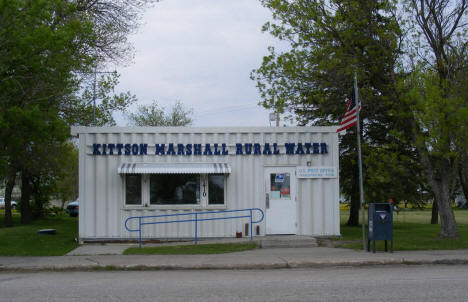 Water utility and Post Office building, Donaldson Minnesota, 2008