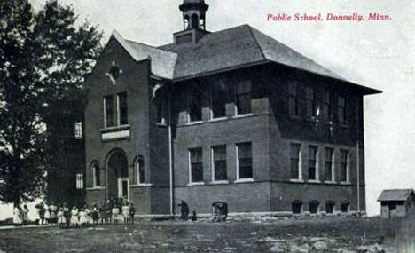 Public School, Donnelly Minnesota, 1910's