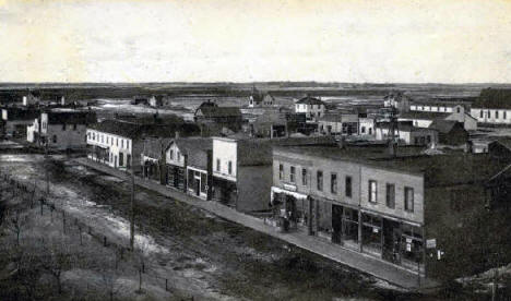 Birds Eye View of Donnelly Minnesota, 1905