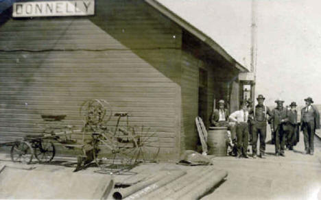 Donnelly Depot, Donnelly Minnesota, late 1900's
