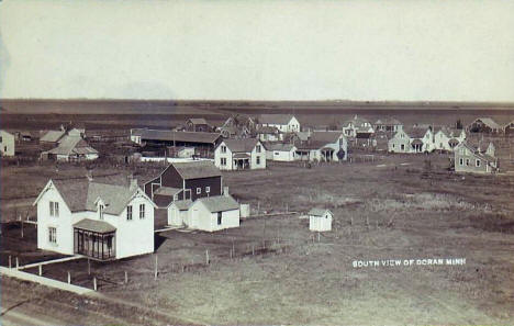 South view of Doran Minnesota, 1910