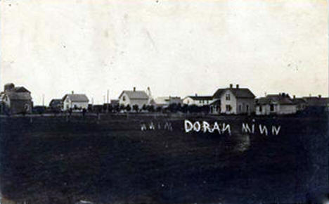 General View of Doran Minnesota, 1910's?