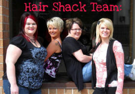Hair Shack, Dover Minnesota