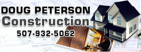 Doug Peterson Construction, Dover Minnesota