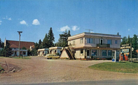 Anderson's French River Motel, Duluth Minnesota, 1950's