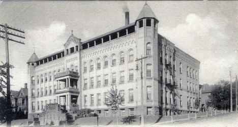 St. Mary's Hospital, Duluth Minnesota, 1910