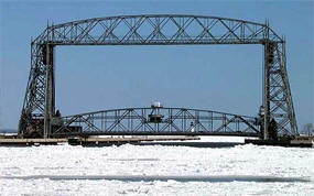 Aerial lift Bridge, Duluth Minnesota