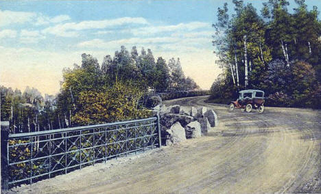 Boulevard Drive, Chester Park, Duluth Minnesota, 1920's?