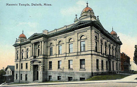 Masonic Temple, Duluth Minnesota, 1911
