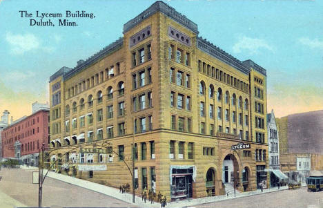 The Lyceum Building, Duluth Minnesota, 1915?