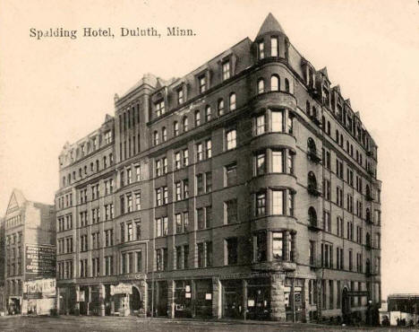 Spalding Hotel Duluth Minnesota 1904