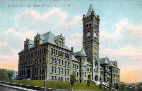 Duluth Central High School, Duluth Minnesota, 1910's