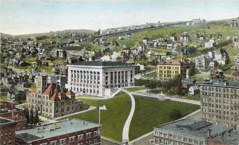 Post Office and Court House, Duluth Minnesota, 1922