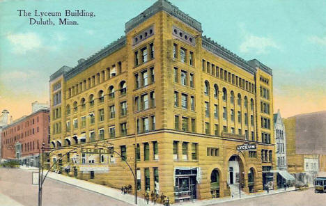 Lyceum Building, Duluth Minnesota, 1910's?