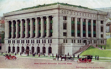 New County Building, Duluth Minnesota, 1909