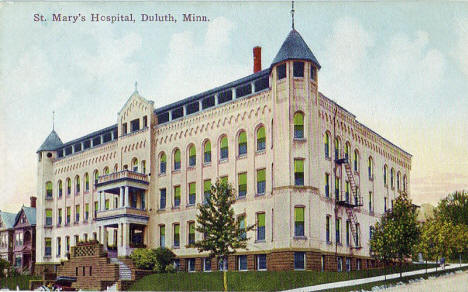 St. Mary's Hospital, Duluth Minnesota, 1910's