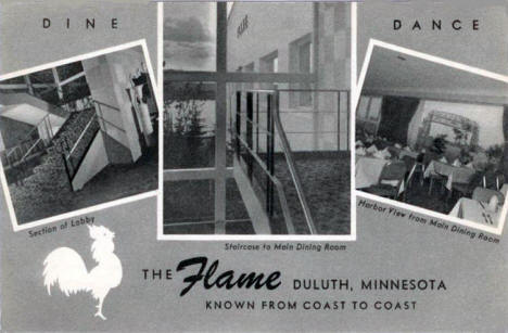 The Flame, Duluth Minnesota, 1950's?