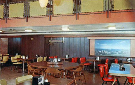 The Captain's Table Cafeteria, Duluth Minnesota, 1961
